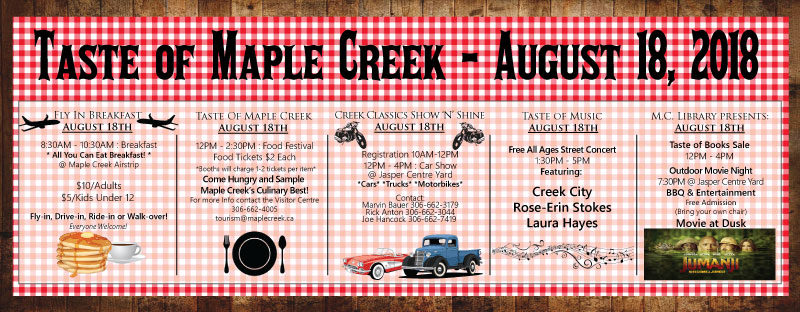 Taste of Maple Creek 2018